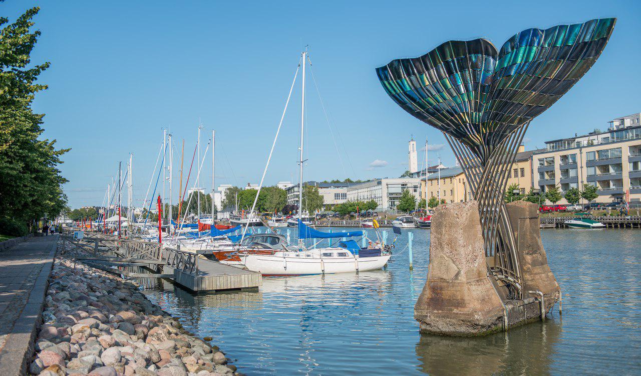 Turku city, photo by Martti Komulainen