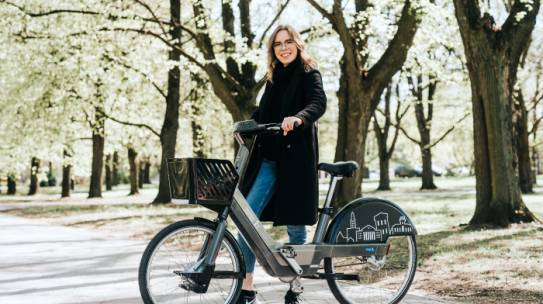 Three months of successful bike sharing in Tartu