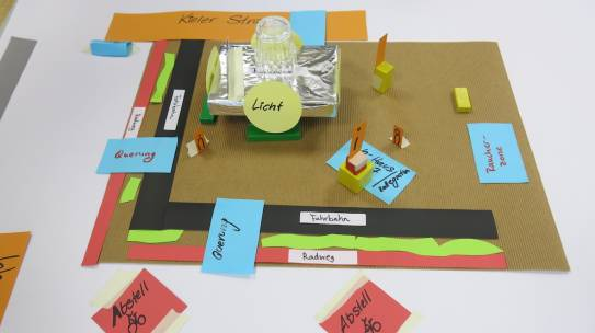 How to design age-friendly public spaces around mobility hot-spots? First results in Hamburg