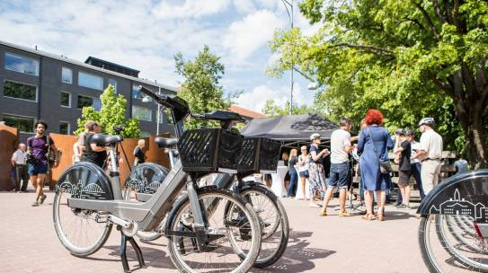 City of Tartu: About Bike Sharing and Silver Age Ambassadors