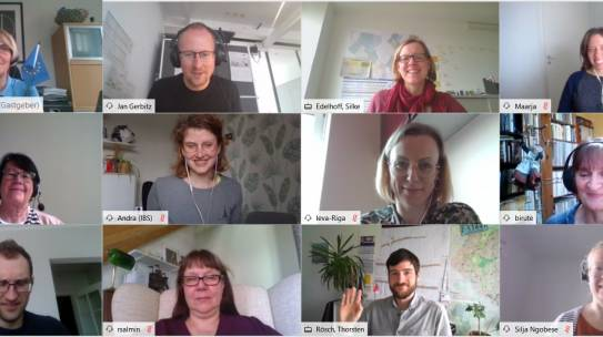 Fourth GreenSAM partner meeting – a two-day virtual meeting